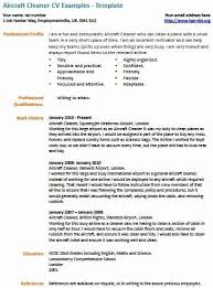 Maintenance Cleaner Resume Sample Unique Cv Examples Job Cover Letter Template Samples