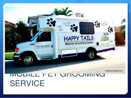 mobile cat grooming mobile pet grooming business presentation for e business