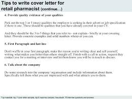 Letter Retail Pharmacist Cover Collection Of Solutions Sample For How To Write A Job Uk Resume