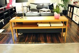 Used Ikea Lack Sofa Table by Used Ikea Lack Sofa Table Console Tables Glass Home Decor Metal