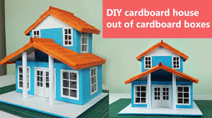 Diy Cardboard House Out Of Cardboard Boxes Step By Step