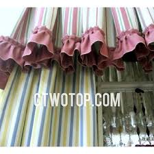 Blue Vertical Striped Curtains by Decorative Modern Colorful Vertical Striped Curtains