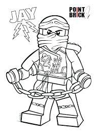 Ninjago Kai Coloring Pages Green Ninja Page
