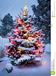 The Grinch Christmas Tree Scene by Snow Christmas Tree Christmas Lights Decoration
