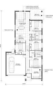 100 Split Level Project Homes Alessandra MK1 Floor Plan Urbane
