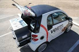 The World's Smallest Food Truck Is Inside A Smart Car - Eater 2013 Electric Smtcar Be Smart Album On Imgur Snafu A Smart Car Made Into A 4x4 2017 Smtcar Hydroplane Wreck Smart Unloading From Semi At Rv Park Youtube Smashed Between 1 Ton Flat Bed Truck Large Delivery Page 3 Jet Powered Yes Jet Powered 2016 Fortwo Nypd Edition Top Speed 7 Premium Gps Navigation Video Fm Radio Automobile Truck Fortwo Coupe Cadian And Rental