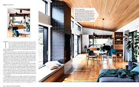 100 Magazine Houses Flinders House In House Garden