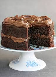Easy Chocolate Fudge Cake Recipe olive magazine