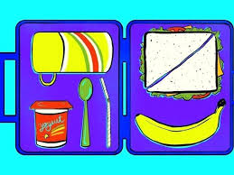 Lunch Box Pictures Clip Art Packed Heart Free