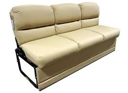 rv sofa used rv motorhome recoverable flexsteel leather cer j