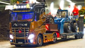 100 Rc Model Trucks AMAZING RC MODEL TRUCK ACTION SCANIAMANMB ACTROS Fair Erfurt