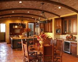 Tuscan Style Kitchen By California Cabinets