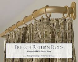 Restoration Hardware Curtain Rod Rings by Best 25 Curtain Hardware Ideas On Pinterest Curtain Rod