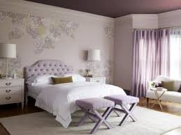 Grey And Purple Living Room Wallpaper by Lavender Bedroom Walls Light Purple Color Decorating Ideas Grey