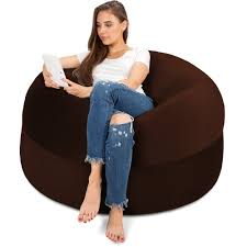 17 Best Bean Bag Chairs Of 2019 To Consider For Your Living ... 5 Ft Bean Bag Foot Chair 98 Big Joe Round Multiple Colors Mochi Beanbag Super Comfy Gamer Daisies Pie 10 Best Bean Bags The Ipdent Foam Chairs Filled With Giant Huge Extra Large Flash Fniture Oversized Solid Gray Best Of 2019 Your Digs Nearly New X2 From Argos Cordaroys Full Size Convertible By Lori Greiner Qvccom