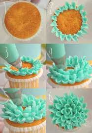 How To Flower Cupcakes