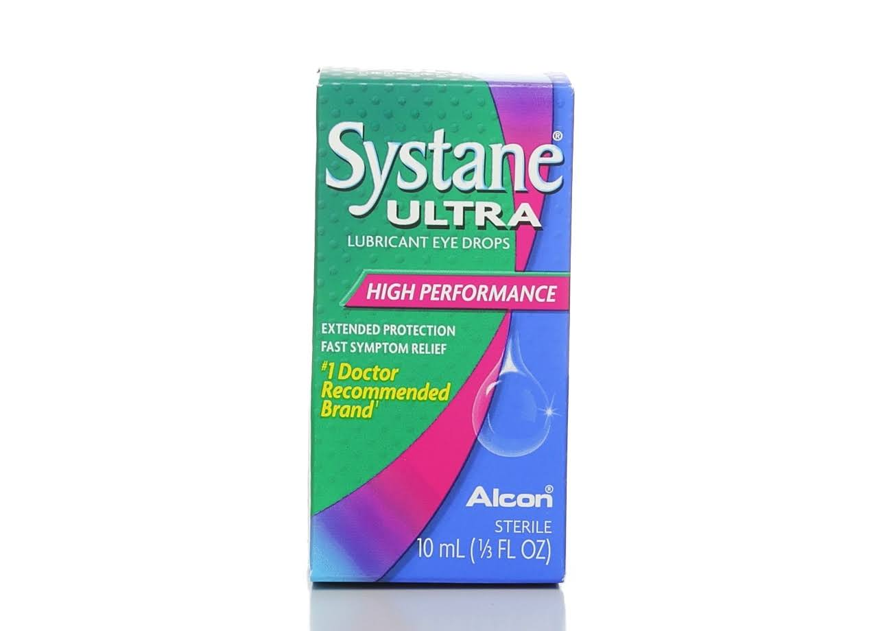 Alcon Systane Ultra High Performance Lubricant Eye Drops - 10ml
