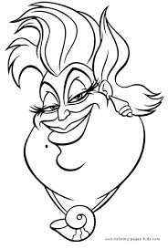 Free Disney Villains Printable Coloring Pages In 528 Best Book Images On Pinterest
