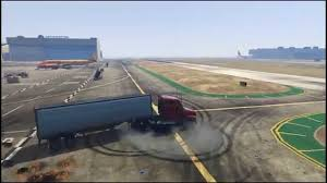 GTA 5 - Semi Truck And Trailer Drifting - YouTube