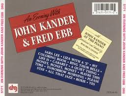 An Evening With John Kander Fred Ebb