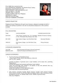 Nursing Resume Sample Staff Nurse Malaysia Examples 1024 X 1448