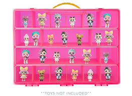 Toy Storage Carrying Box For LOL Surprise Dolls The Is Not Created By Surpise Figures Playset Organizer Accessories Kids LMB