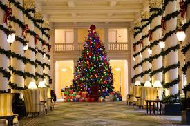 What Is The Best Christmas Tree Variety by 13 Hotel Lobbies Decorated For The 2016 Holiday Season