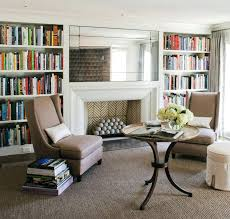 Living Room With Fireplace And Bookshelves by Bookcase 20 Cozy Corner Fireplace Ideas For Your Living Room