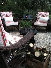 Diy Pea Gravel Patio Ideas by French Country Cottage Pea Gravel Patio Replace Wood Deck