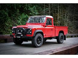 100 Land Rover Defender Truck 1999 110 Only 36000km West Vancouver