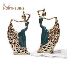 northeuins harz pfau tänzerin miniatur figuren innen