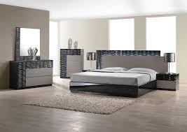 Modern Bedroom Set with LED lighting system