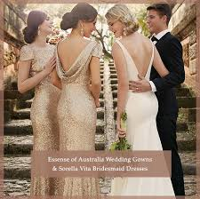 Essense Of Australia Wedding Gowns Sorella Vita Bridesmaid Dresses