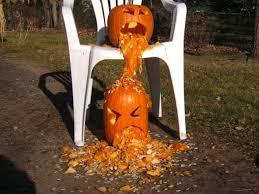 Puking Pumpkin Carving Ideas by Random Hangover Thread Pouët Net