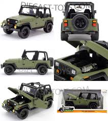 Jada 1/24 Just Trucks & Dub City-JUST TRUCKS 1992 JEEP WRANGLER 1/24 ...