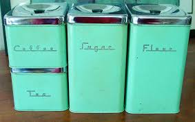 Antique Canisters Kitchen photogiraffe