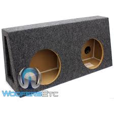 100 Truck Subwoofer Box ST210 Ground Shaker 10 Dual Sealed