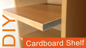 2 DIY How to make a Cardboard Shelf 2nd way HD corrugated