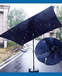 Walmart Patio Umbrellas With Solar Lights by Rectangle Patio Umbrella Canada Nucleus Home