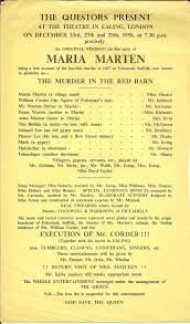 The Questors Theatre Archive: Maria Marten 1958 Murder In The Red Barn Youtube Victorian Era Figurines Amusing Planet Hoedown Entrance Features The Look Of An Old Red Barn Unsolved Murders History Sorts Archive Stock Photos Images Alamy In July 2015 Cambridge Youth Musical Theatre Amazoncom Sinister Cinema Amazon Yesterdays Papers Remarkable Lives Splendidly Illustrated Ballads Harnessing The Power Of Criminal Corpse By Tom Waits
