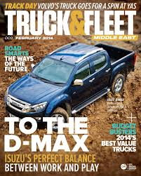 100 Work And Play Trucks Truck Fleet ME February 2014 By Construction Machinery ME Issuu