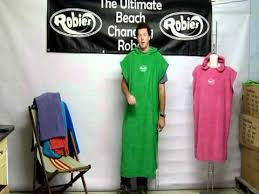 Robie Robes Changing Towel In And Out Of A Wetsuit After Surf Swim Windsurfing Saling Kiteboarding