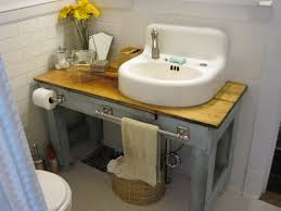 Diy Bathroom Vanity Tower by 20 Upcycled And One Of A Kind Bathroom Vanities Diy Bathroom