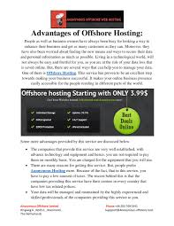Advantages Of Offshore Hosting By Anonymousoffshorehost - Issuu Hostplay Coupons Promo Codes Thewebhostingdircom Best 25 Cheap Web Hosting Ideas On Pinterest Insta Private Offshore Hosting For My New Business Need Unspyable Vpn Review Vpncouponscom Web Design And Development Company In Bangladesh Top Rated Netrgindia Solutions Private Limited Reviews By 45 Users Ewebbers Global Offshore Stationary Domain A Website Website Blazhostingnet Offonshore Web Hosting Up 6 Years What Is Good For Youtube Tips To Help You Find Host James Nelson Issuu Greshan Technologies Software Application