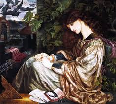 Sanctuaries Dreams And Shadows Dante Gabriel Rossetti Pre Raphaelite