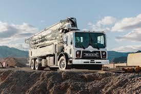 100 Pumper Trucks Mack Presents MDRIVE Automatic Tranny In Concrete Pumper