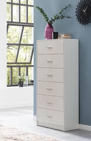 finebuy design sideboard fb52332 weiß hochglanz 60x130x30 cm anrichte holz modern schmale schubladenkommode esszimmer kleiner allzweckschrank flur