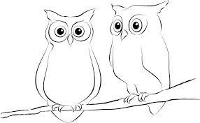 Best s of Simple Owl Drawings Easy Cute Owl Drawings How