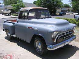 1957 Chevy Pickup Truck | Truck And Van 1955 Chevy Truck For Sale Youtube 57 Pickup Truck 1 Ton Extended Cab Dually With 454 Sitting 1957 Chevrolet Pick Up Bangshiftcom Stock Photos Images Alamy 9 Sixfigure Trucks The Trade 3100 Swapping Stre Hemmings Stance Works Adams Rotors Pickup Chevrolet 3100sidestep Rat Rod Hot No Reserve Awesome Engine Install Used Step Side At Webe Autos Serving