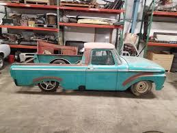 1963 Ford F100 Unibody Short Bed Truck Custom Chassis Big Block ...